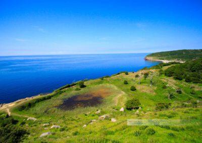 Hammerknudden - -Dänemark-Natur-Meer-Halbinsel-Ostsee