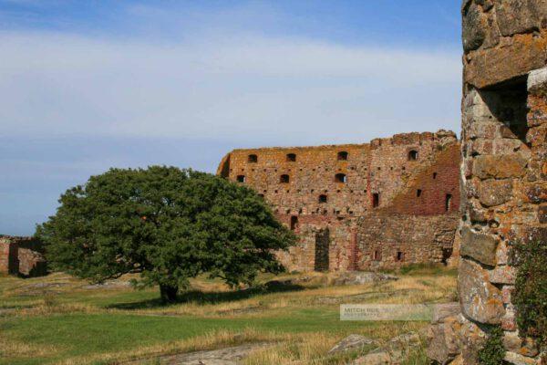 Bornholm-Festung Hammershus-Sommer-Dänemark-Ostsee