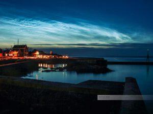 Bornholm-Svaneke-Dänemark-Hafen-Abendlicht-Ostsee