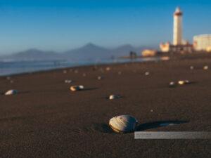 La Serena in Chile mit seinem einzigartigen Leuchtturm am Strand, auf dem viele Muscheln zu finden sind