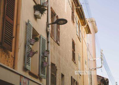 Frankreich- Antibes - Altstadt - Gasse - Côte d' Azur - Mittelmeer - Südfrankreich