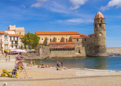 Frankreich-Collioure-Südfrankreich-Côte Vermeille-Mittelmeer-1