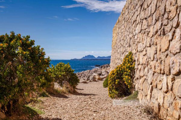 Frankreich - Wanderung - Cap d' Antibes - Côte d' Azur - Natur-Südfrankreich-Mittelmeer