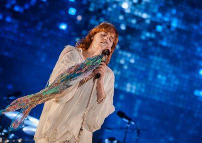 Florence Welch, Sängerin der Band Florence + the Machine auf dem Southside Festival
