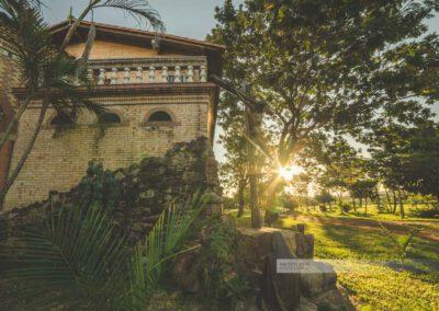 Atyrá - Kloster Marianela im Departamento Cordillera, Gelände und Natur um das Kloster