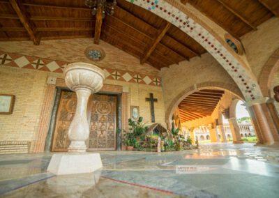 Atyrá - Kloster Marianela im Departamento Cordillera, Innenaufnahme des Klosters