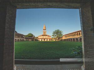 Atyrá - Kloster Marianela im Departamento Cordillera, Blick in den Innenhof