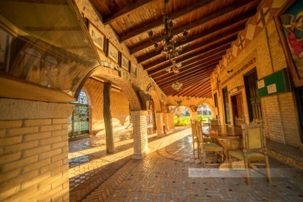 Abendlicht im Kloster Marianela, tolle Lichtstimmung