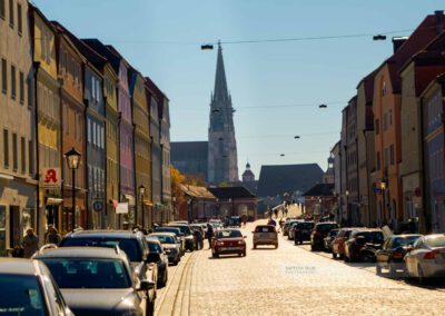 Hauptgasse in StadtamHof in Regensburg