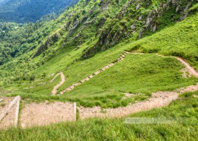 Vogesen - Felsenpfad -Sentier des Roches – Hohneck aufstieg