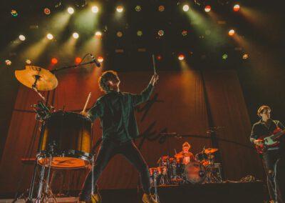 Foto der Band Giant Rooks bei einem Konzert